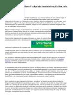 Buscar Dominios Libres Y Adquirir DominioCom,Es,Net,Info, Etc