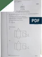 SPM Math 2014 Paper 2