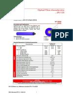 Nexans Singlemode Fibre 9 - 125um