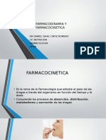 Farmacodinamia y Farmacocinetica Clase
