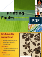 Printing Faults