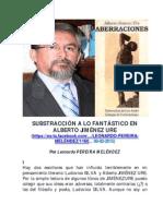 La Sustracción de Lo Fantástico en Alberto Jiménez Ure