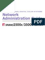 Toshiba eStudio 2500c Network Admin Guide