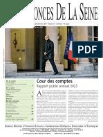 Edition Du Jeudi 13 Fevrier 2013