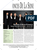 Edition Du Lundi 1 Juillet 2013