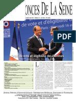 Edition Du Lundi 5 Mai 2014