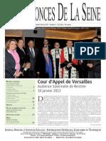 Edition Du Lundi 4 Fevrier 2013