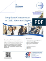 Long Term Consequences of Child Abuse and Neglect