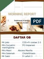 Morep Bedah 4 February 2015