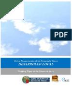 Retos Estructurales de la Economia Vasca. DESARROLLO LOCAL