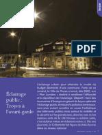L'éclairage public à Troyes