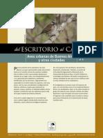 Escritorio Al Campo Guia Para Reconocer Aves Urbanas de Buenos Aires y Alrededores