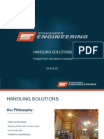 Handling solutions