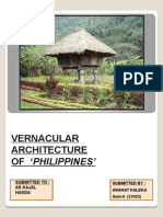phillippines Vernacular Architecture
