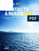 UK P&I Club Contacts and Rules 2015