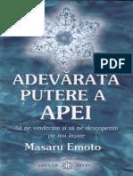 M.Emoto - Adevărata putere a apei [SSAN].pdf