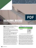 Sealing Deck Penetration