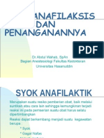 syok anafilaksis