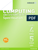 BH029106 HNCD Computing and Systems Development Issue4