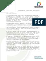 Informe Defensor del Pueblo contra voto electrónico