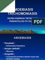 amoebiasis trichomoniasis