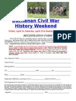 2015 Buchanan Civil War History Weekend Application1