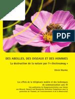 Abeilles Oiseaux Hommes La Destruction de Le Nature Par l Electrosmog Ulrich Warnke