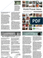 World Prayer News - March/April 2015