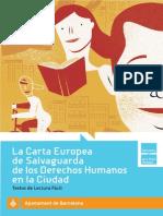 carta de salvaguarda de derechos humanos en la cuidad