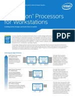 Xeon e5 Workstation Brief