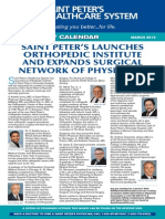Saint Peter's Launches Orthopedic Institute