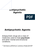 Antipsychotic Agent INTRO