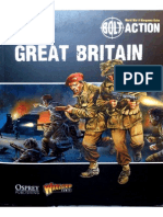 Bolt Action - Armies of Great Britain