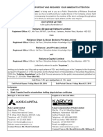 RBN - Exit Offer 20-03-2014