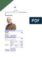 REPORT on Narendra Modi