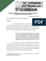 O EMPREGO DOMÉSTICO EM MARECHAL CÂNDIDO RONDON/PR