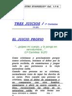 TRES JUICIOS