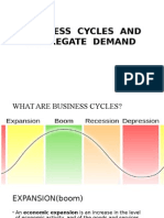 Business Cycles and Aggregate Demand