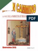 Noi in Cammino - La Voce Della Parrocchia Di Trescore Cremasco - Anno 1 n. 2 - Quaresima 2015