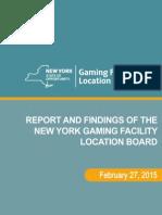 NY Casino Report