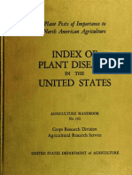 Index Of Plant Diseases In The US