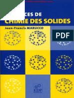 Exercices de Chimie Des Solides - Jean-Francis Marucco