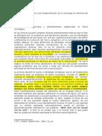 Lecciones Sobre Fundamentación de La Sociología en Términos de Teoría Del Lenguaje