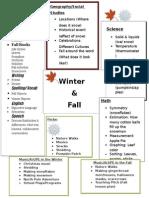 themed unit seasons map