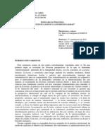 Programa Carmignani 2014 Intertextualidad