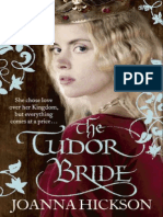 Sneak Peek of The Tudor Bride by Joanna Hickson