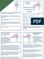 WRAP Info Booklet 2015