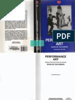 Performance Art - [Roselee Goldberg]
