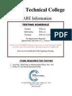 Tabe Test - Complete Rev Dec 2014