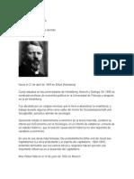 Max Weber Biografia